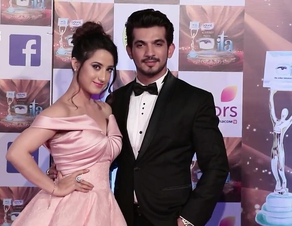 Aalisha Panwar with Arjun Bijlani