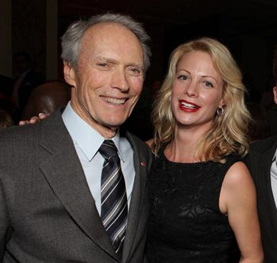 Clint Eastwood and Jacelyn Reeves