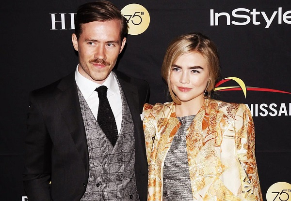Maddie Hasson and her husband Julian Brink