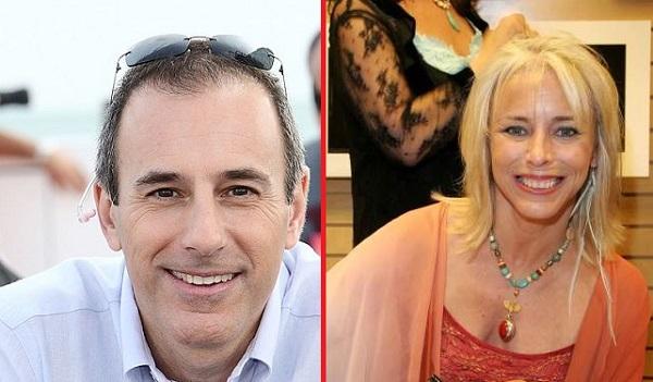 Matt Lauer and Nancy Alspaugh