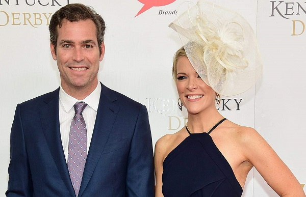 Megyn Kelly with her spouse Douglas Brunt