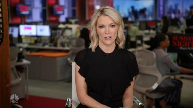 Megyn Kelly working at NBC
