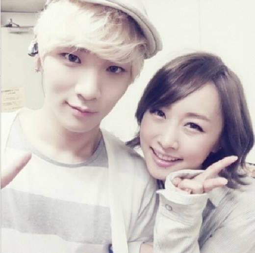 SHINee Key and KARA Nicole