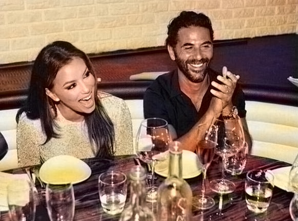 Eva Longoria with her husband Jose Antonio Baston