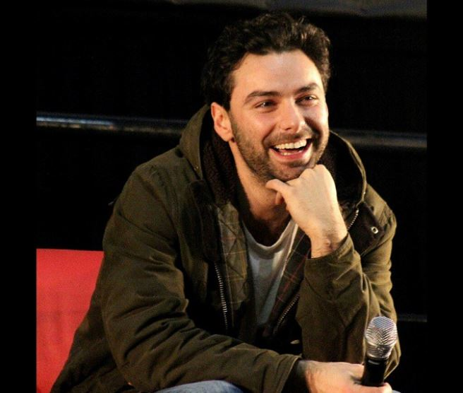 Aidan Turner body size, color, height, weight