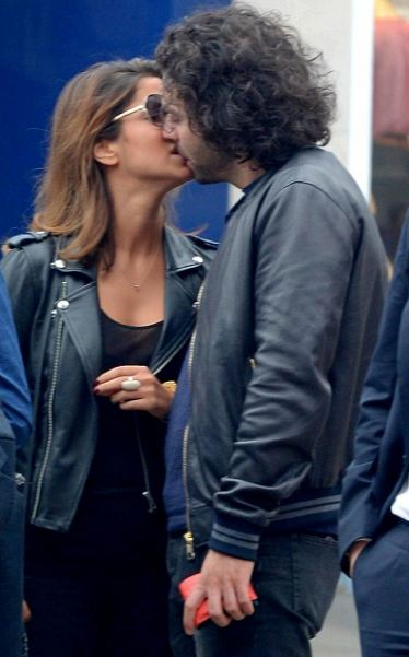 Aidan Turner with second girlfriend Tara Derakshan