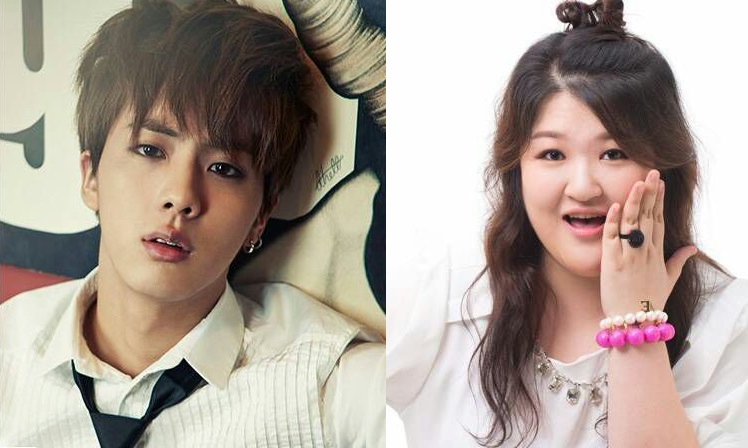 BTS Jin and Lee Guk Joo