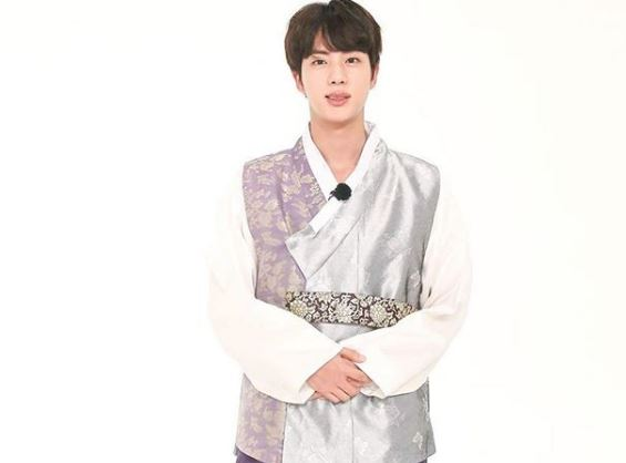 BTS Jin perfect body, shirtless