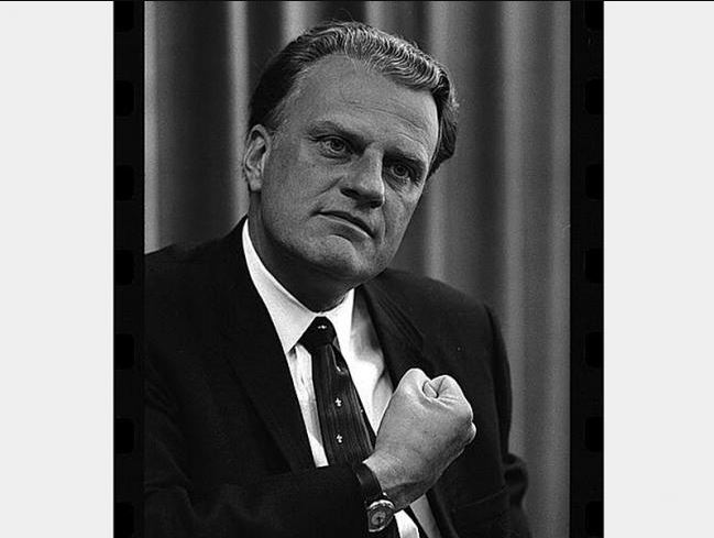 Billy Graham died at the age of 99 at home because of health issues