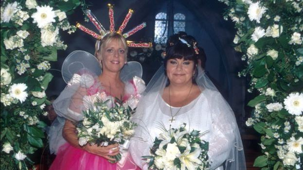 Emma as Alice Tinker in The Vicar of Dibley