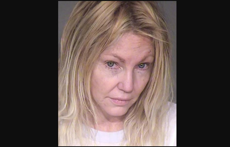 Heather Locklear picture after arrest