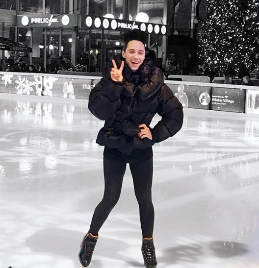 Johnny Weir is a former figure skater