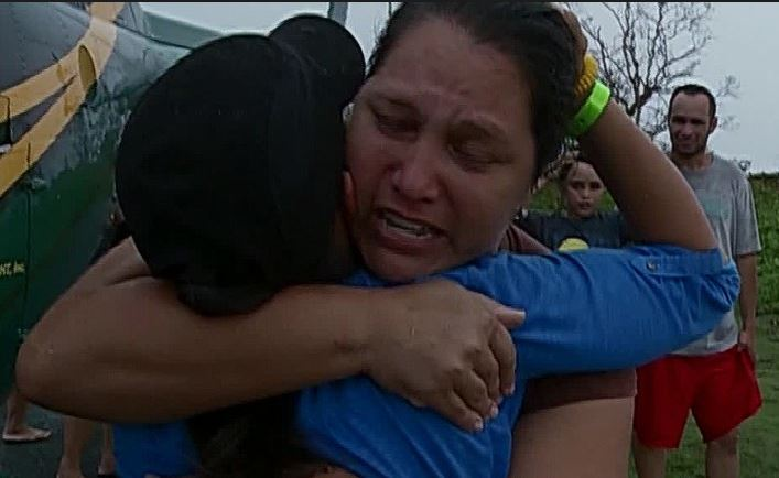 Leyla Santiago parents overjoyed to see her after hailstrom reporting