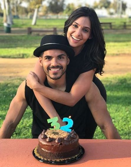 Marlon Aquino with his girlfriend Camila Banus on his 32nd birthday