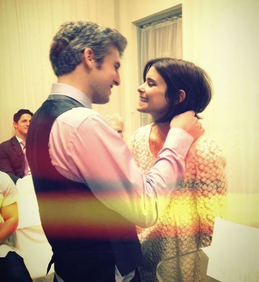 Max Joseph with his wife Priscila Joseph on sixth anniversary