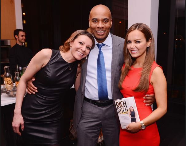 Tony Harris with Kiran Chetry and Nicole Lapin
