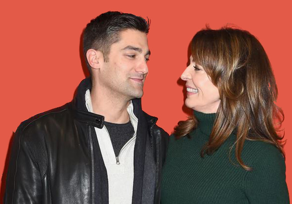 Allison Janney with her boyfriend Philip Joncas