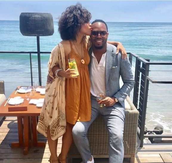 Amirah Vann and Patrick Oyeku