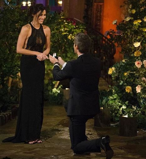Arie Luyendyk Jr. proposed Rebecca Kufrin