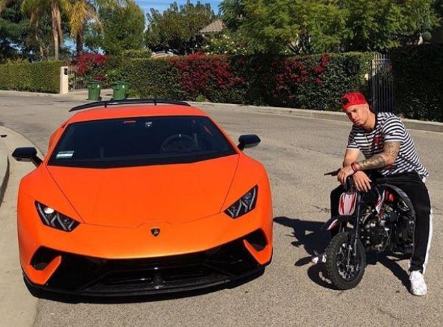 Austin McBroom owns a Lamborghini
