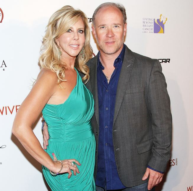 Brooks Ayers and Vicky Gunvalson