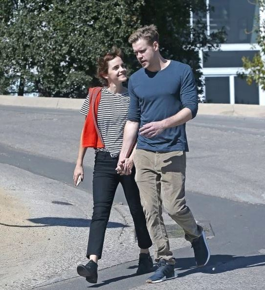 Chord Overstreet with his allegedly new girlfriend, Emma Watson