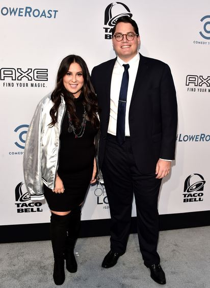 Claudia Oshry with her husband Ben Soffer