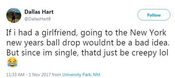 Dallas Hart is single