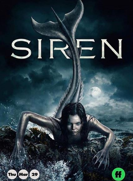 Eline is playing as Ryn is Siren TV series