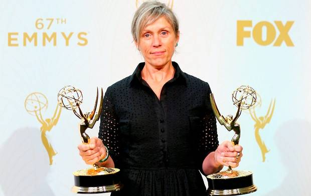 Frances McDormand is Emmy Award winning actress
