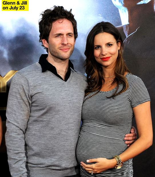 Glenn Howerton with his wife Jill Latiano