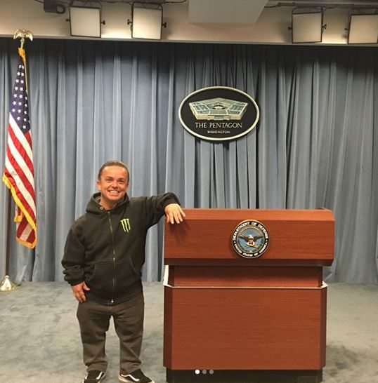 Jason Acuna at Pentagon