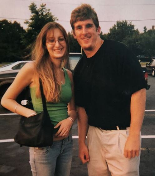 Mojo Rawley with his sister Lena