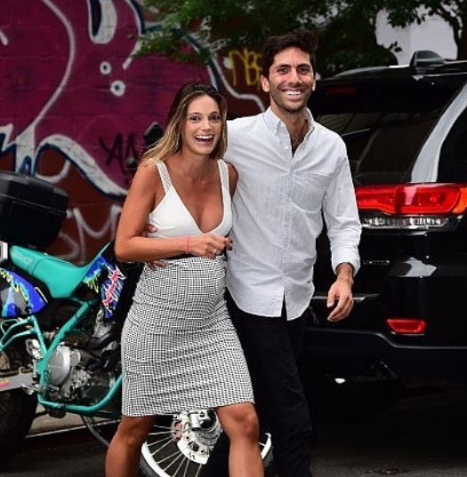 Nev Schulman and his wife Laura Perlongo