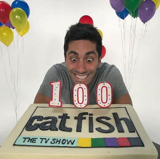 Nev Schulman celebrating 100 shows of Catfish
