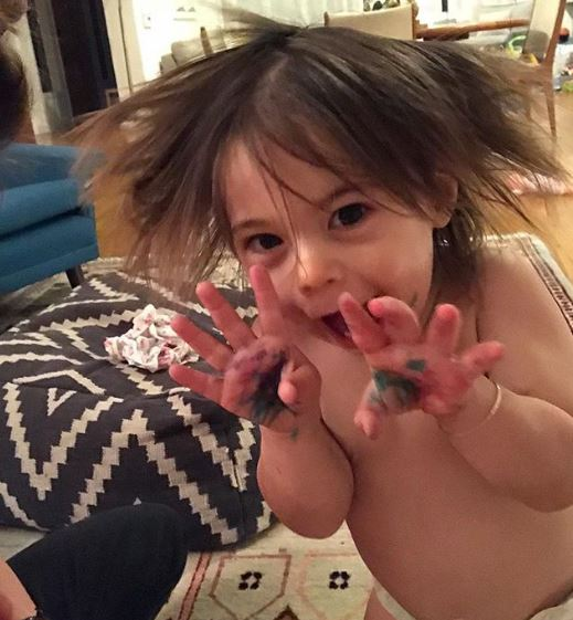 Nev shared his daughter Cleo James picture on Instagram