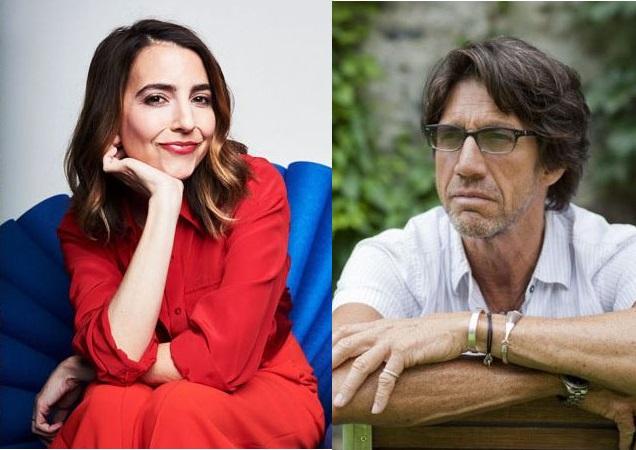 Rachel Ramras and Christian Duguay