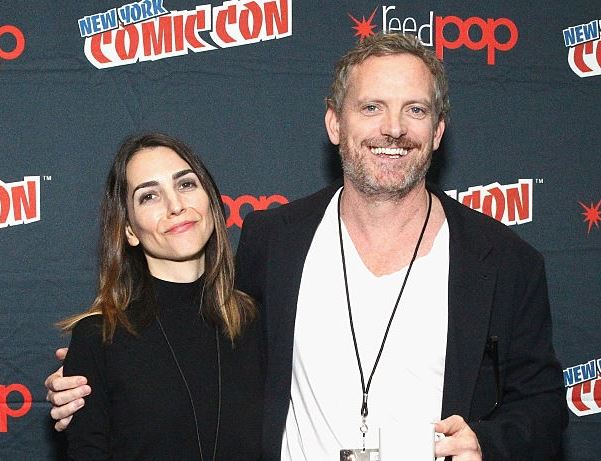 Rachel Ramras with her husband, Hugh Davidson