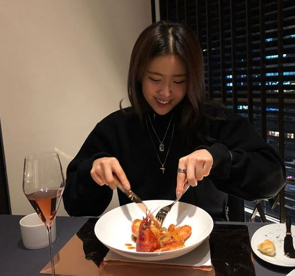 Suran loves tasting new foods