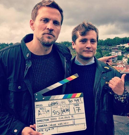 Tobias Santelmann shooting for Grenseland
