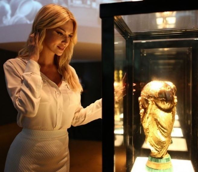Victoria Lopyreva is World Cup 2018 ambassador