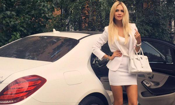 Victoria Lopyreva owns Mercedes along with Audi, Ferrari and BMW