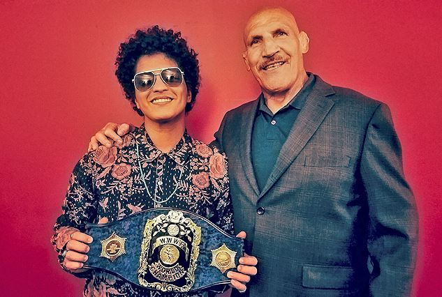 Bruno Sammartino with Bruno Mars