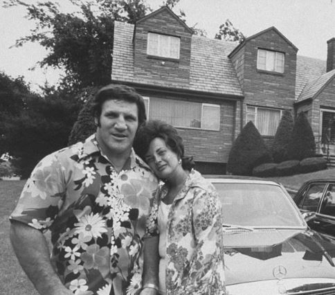 Bruno with his wife, Carol Sammartino