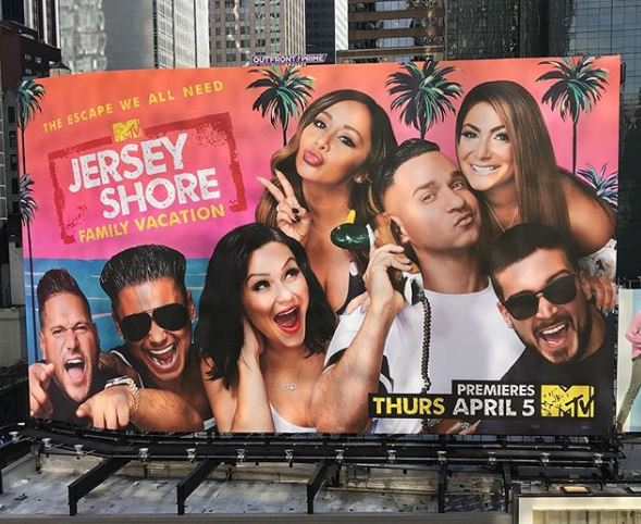 DJ Pauly D is back on Jersey Shore Family Vacation