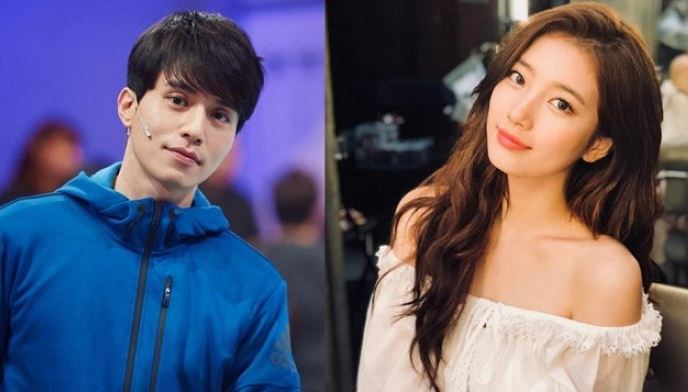 Lee Dong Wook and his girlfriend Suzy Bae