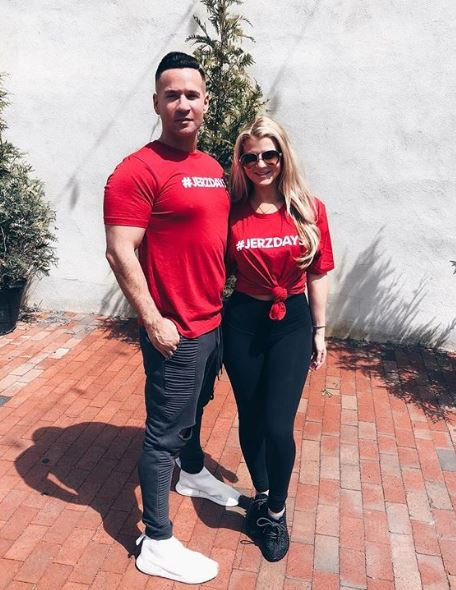 Michael Sorrentino with his girlfriend lauren Pesce