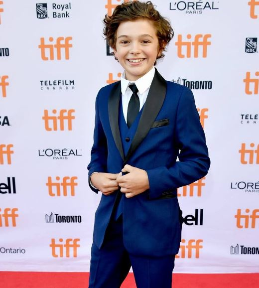 Noah Jupe Body Measurements, Height, Size