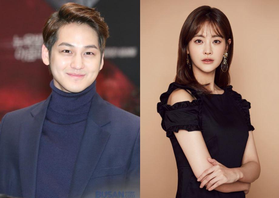 Oh Yeon Seo and Kim Bum