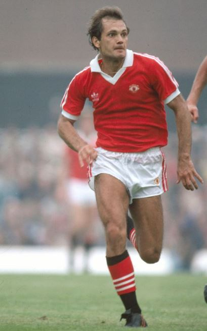 Ray Wilkins played for Manchester United